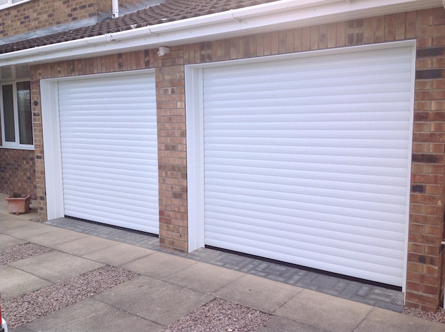 White Roller Garage Door Ultrador